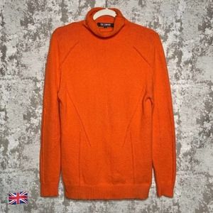 Raf Simons Autumn Winter 18-19 Orange Turtleneck